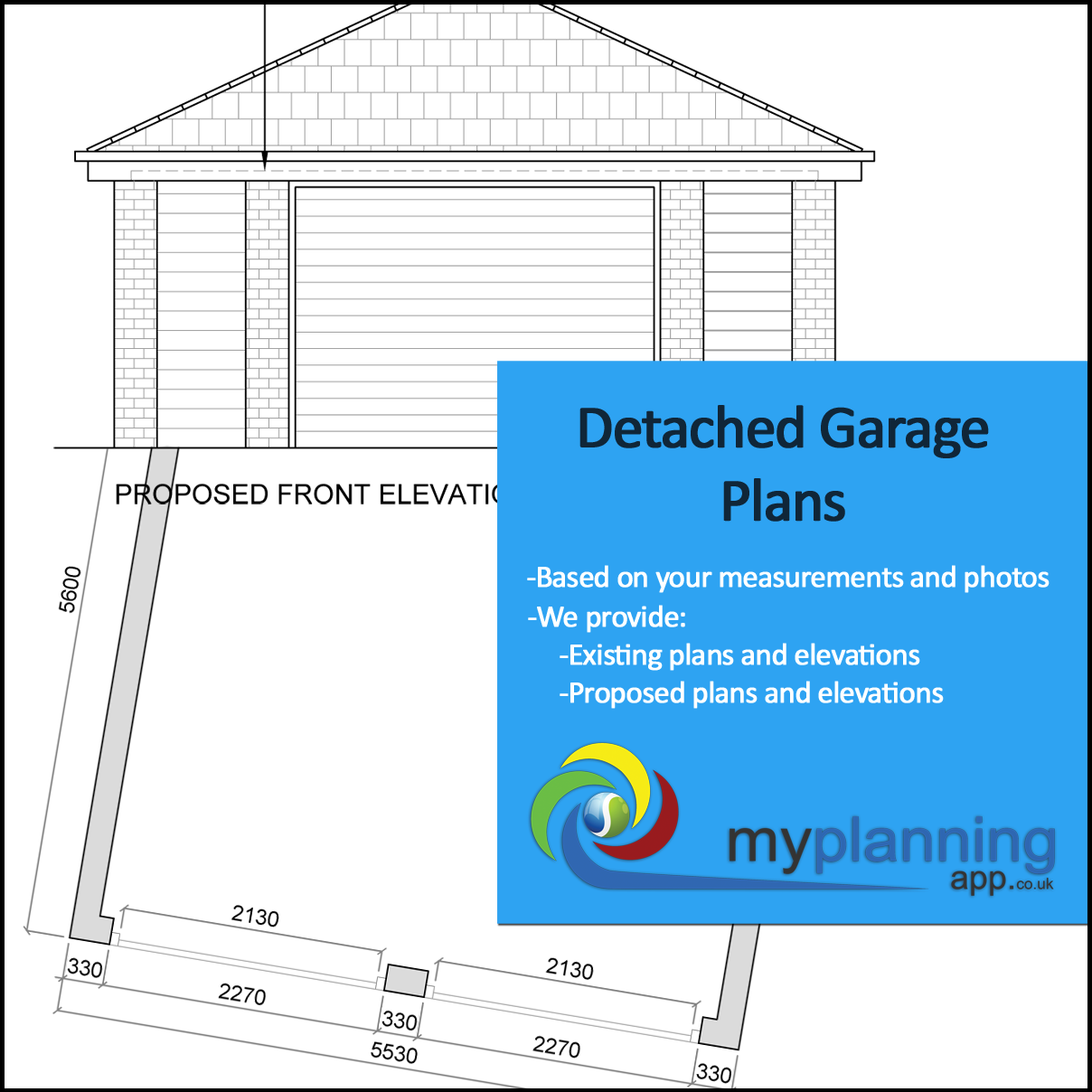 Detached garage plans my planning application for Garage planning software